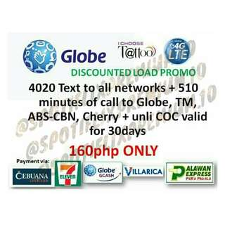 DISCOUNTED GLOBE LOAD + CHEAP PROMOS