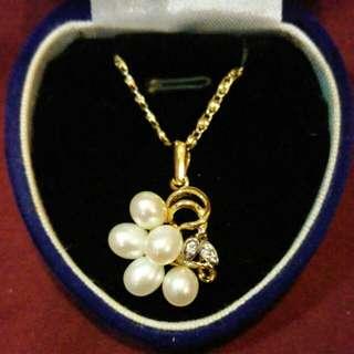 🚚 【降】天然淡水真珠項鍊