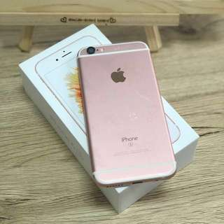 iPhone 6s 玫瑰金 64G (4.7吋)二手女用機