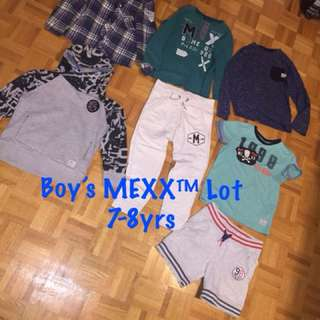 Boy's MEXX Brand Lot 7-8yrs