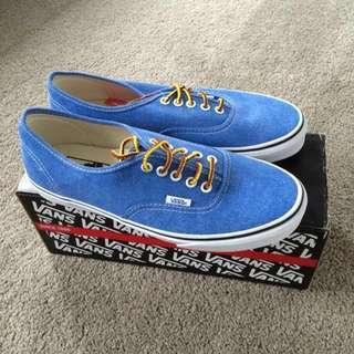 Blue Vans (was $40)