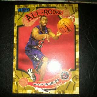 Tracy Mcgrady All Rookie Fleer Ultra 1997-1998 Card