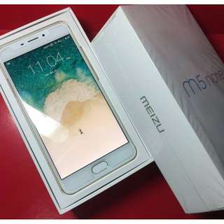 Meizu M5 Note 32gb Duos Factory unlocked Complete