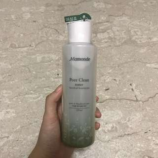 AUTHENTIC BRAND NEW Mamonde pore clean toner