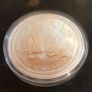 兔年銀幣 (已停售)
