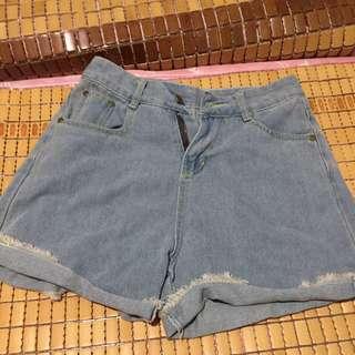 牛仔短褲#手滑買太多