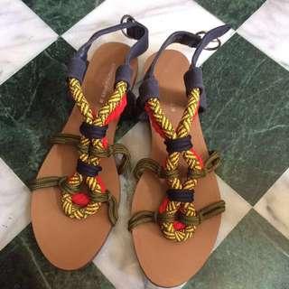 Sadon山東古著涼鞋