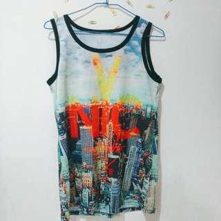 🚚 (衣物兩件免運)酷炫 NYC 籃球球衣