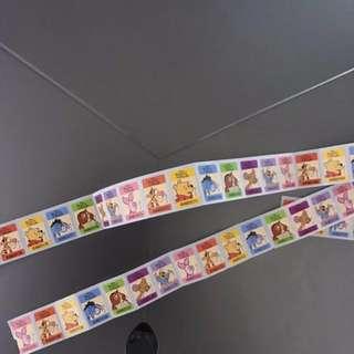 7-11 Winnie the Pooh Stamp