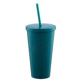 **包郵** 台灣直送 Starbucks 藍綠不鏽鋼TO GO冷水杯 16OZ