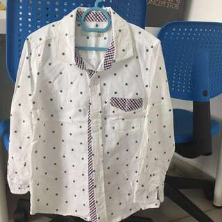 Long Sleeve White Shirt