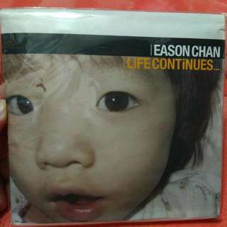 陳奕迅 Eason Life Continues 2nd Edition CD+DVD