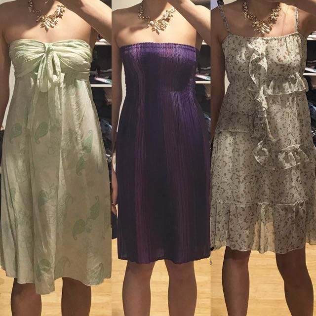 3 dresses for $15