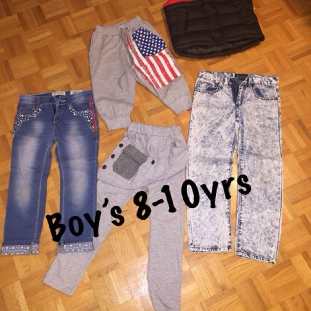 8-10 yrs clothing lot
