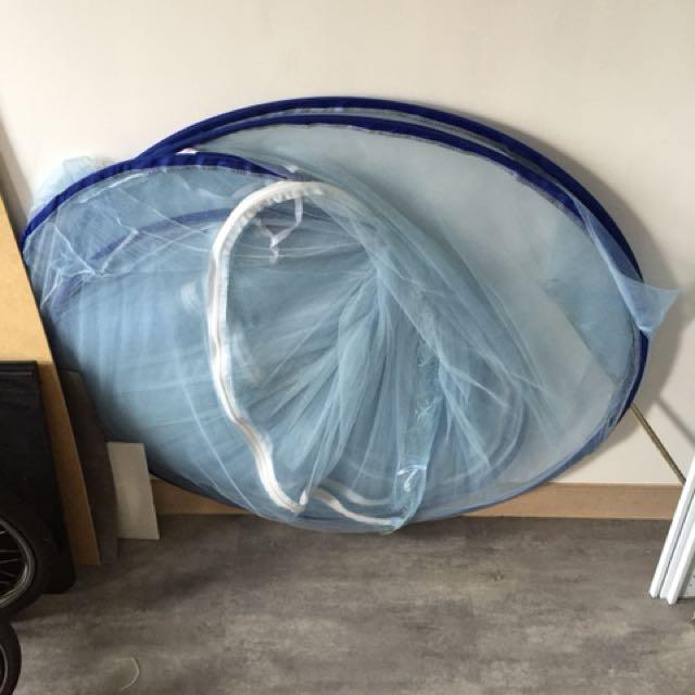 雙人床蚊帳