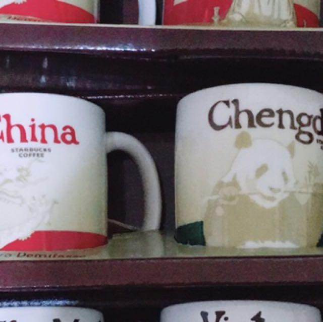 星巴克城市杯 中國與成都