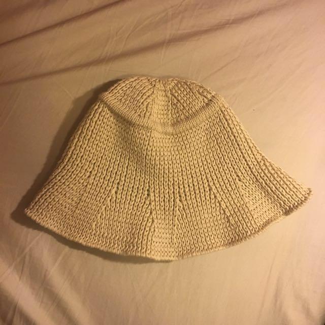 二手帽 韓國製針織軟帽 漁夫帽 #四百不著涼