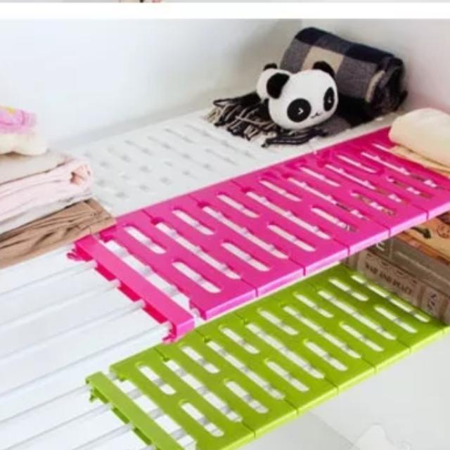 衣櫃 廚房 鞋櫃 可伸縮層架 收納神器