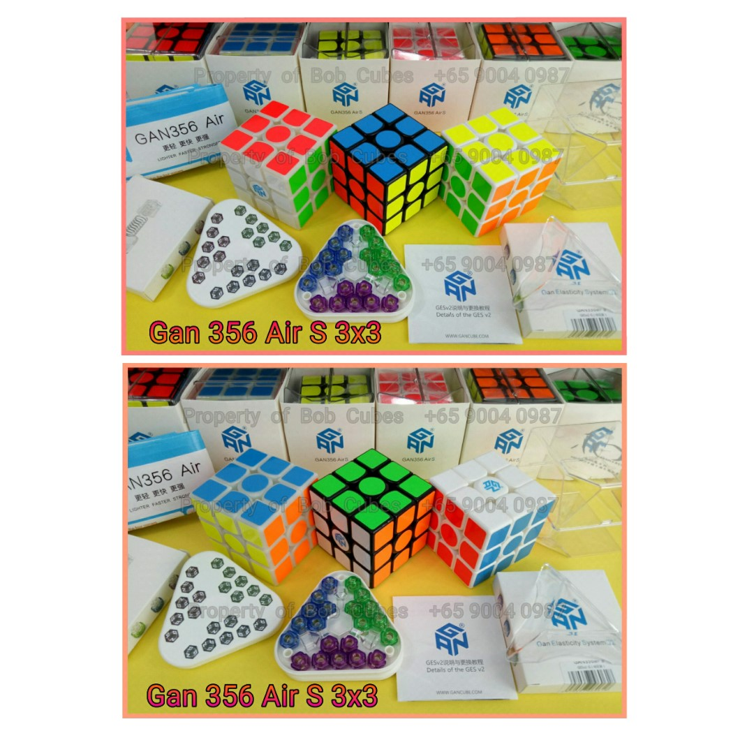 ++ Gan 356 Air S 3x3 for sale in Singapore  - Brand New Speedcube