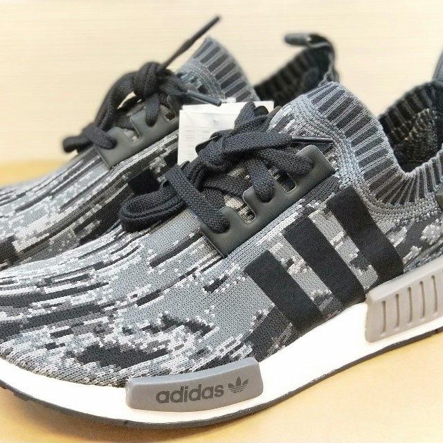online store 22fdd 1ba31 ... good adidas nmd r1 pk glitch camo st core black grey mens fashion  footwear sneakers on