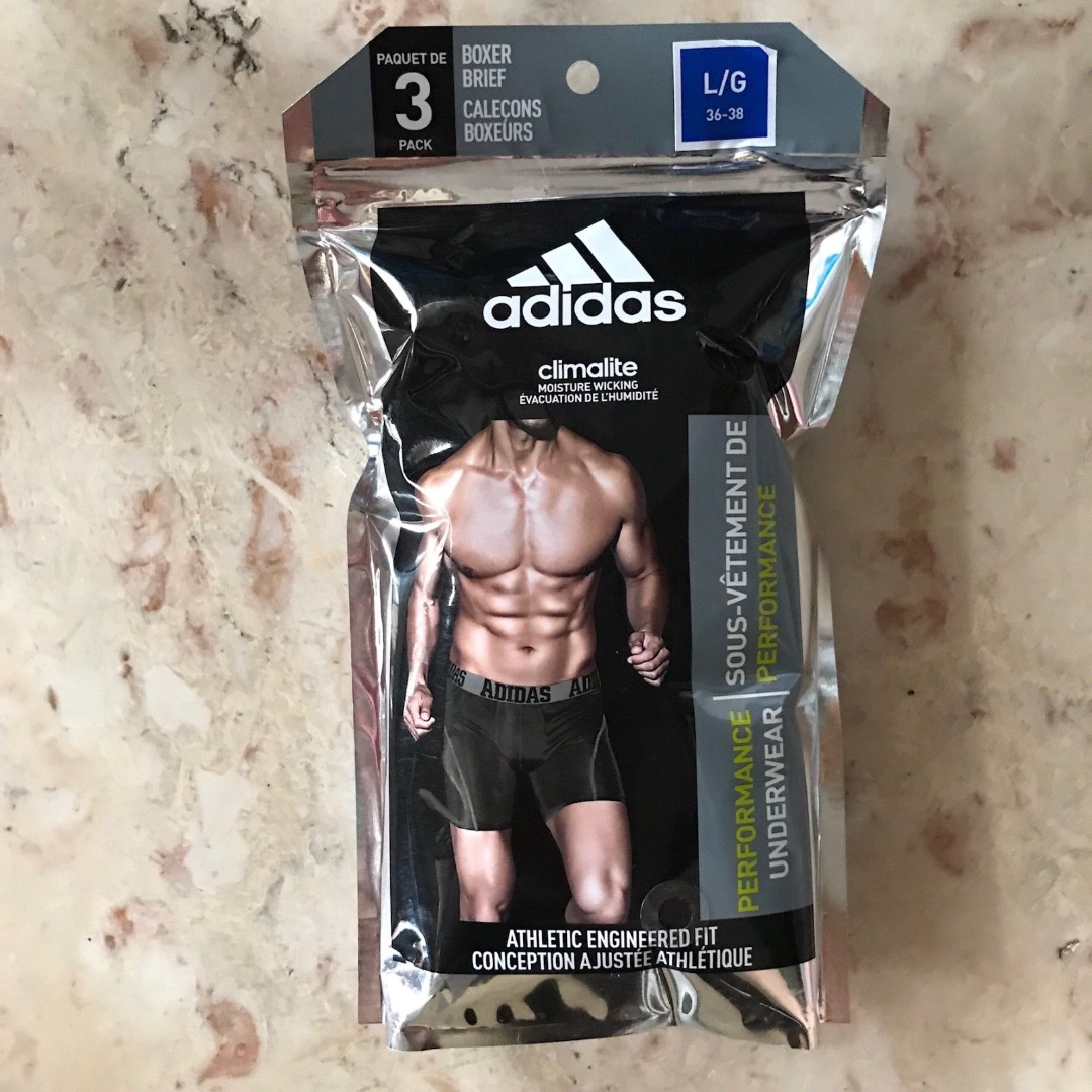 Adidas Performance Underwear Pack OF 3 (Free Shipping)