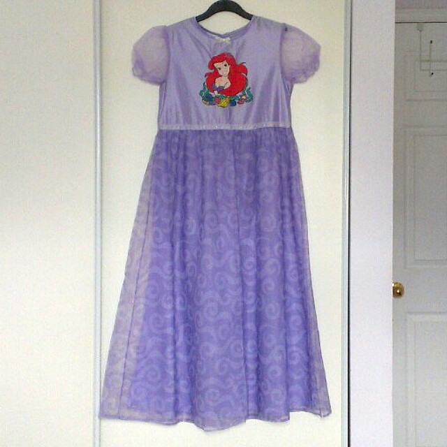 Ariel Princess Dress (Size Large)