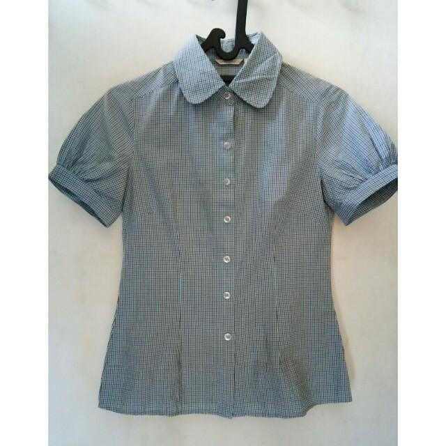 Atmosphere Blue Square Shirt
