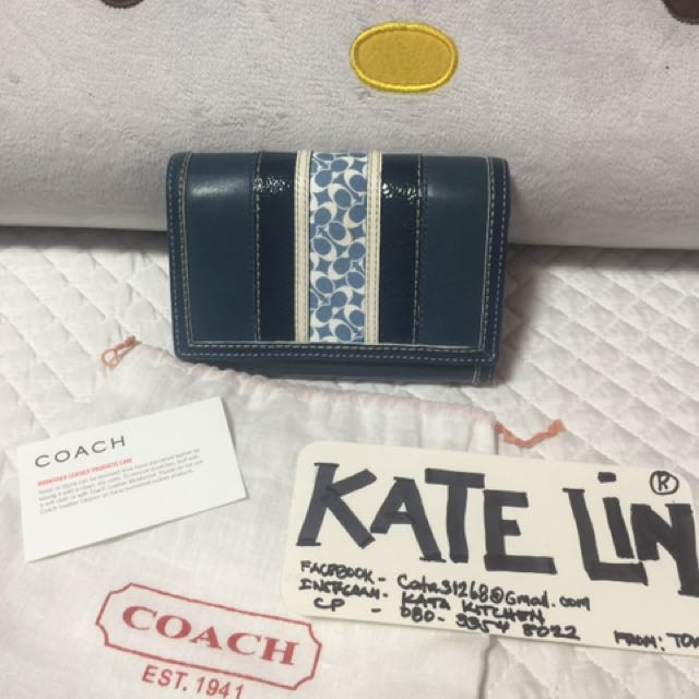 Authentic Coach Folded Wallet