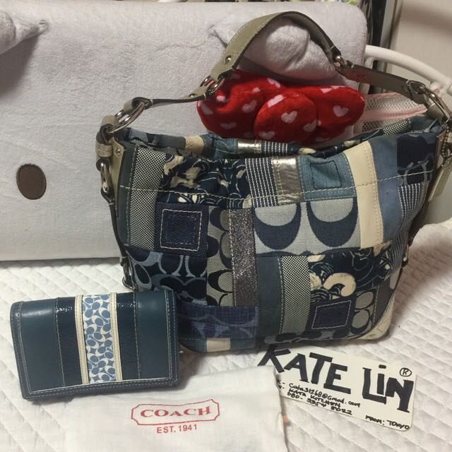Authentic Coach set Bag&Wallet
