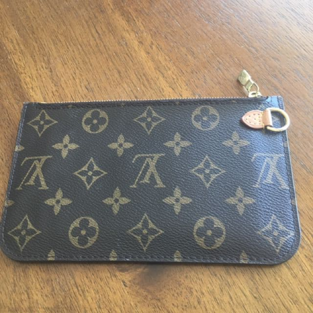 Authentic Neverfull PM Pouch