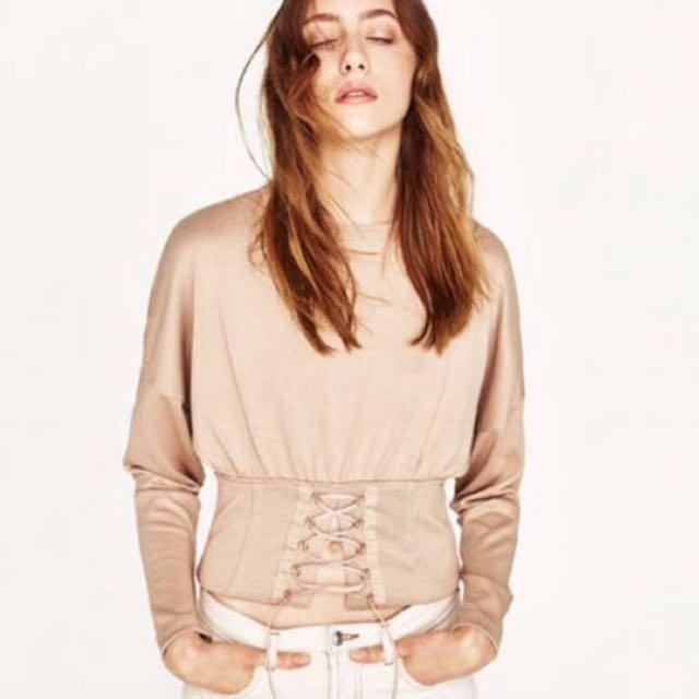 Authentic Zara Corset Top