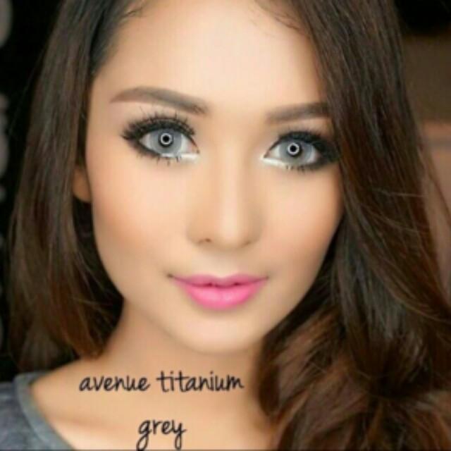Avenue Titanium Grey Softlens / Softlens ORI / Softlens Murah