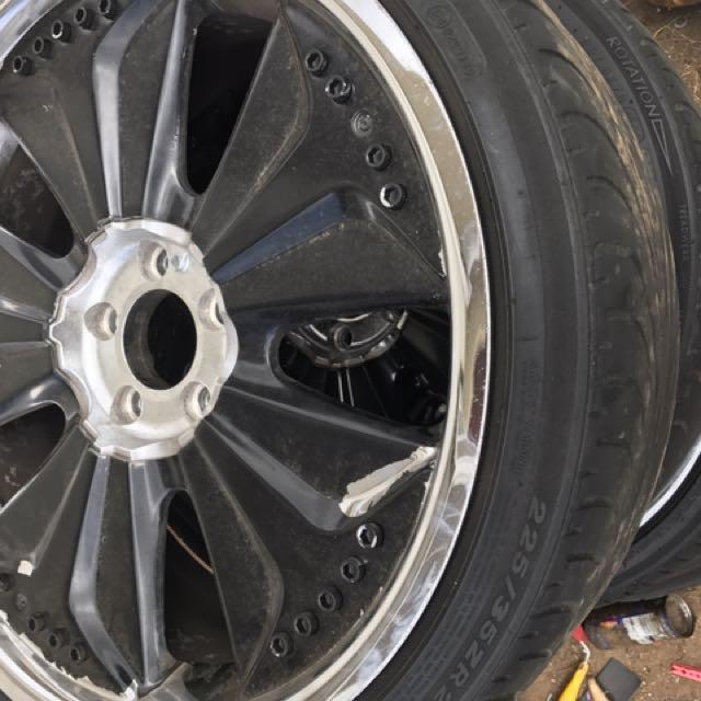 Ba/bf mag wheels