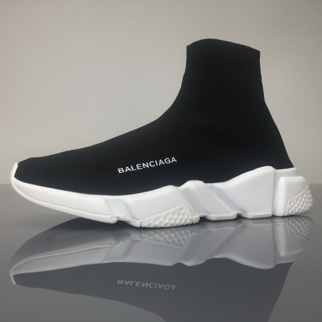 29265f75c73d Balenciaga Speed Trainer Black White