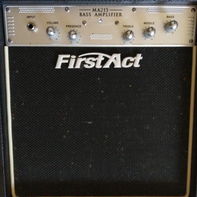 Bass amp First act