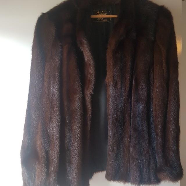 Berkeley Furs House Of Mink Fur Coat