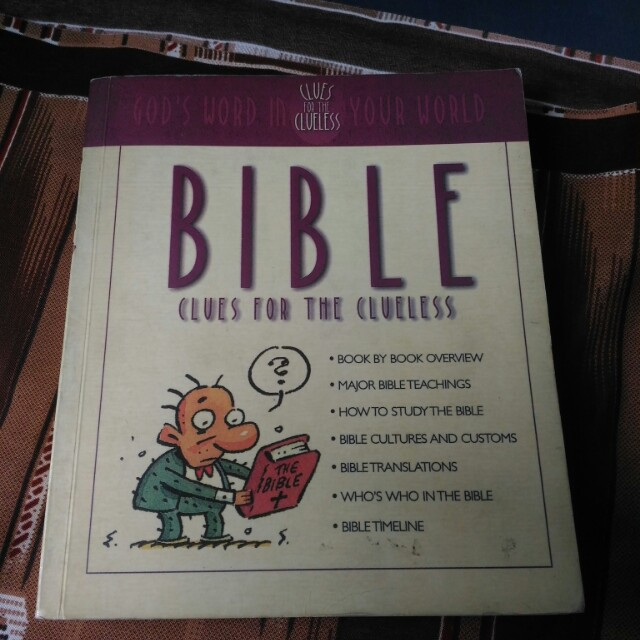 Bible Clues for Clueless