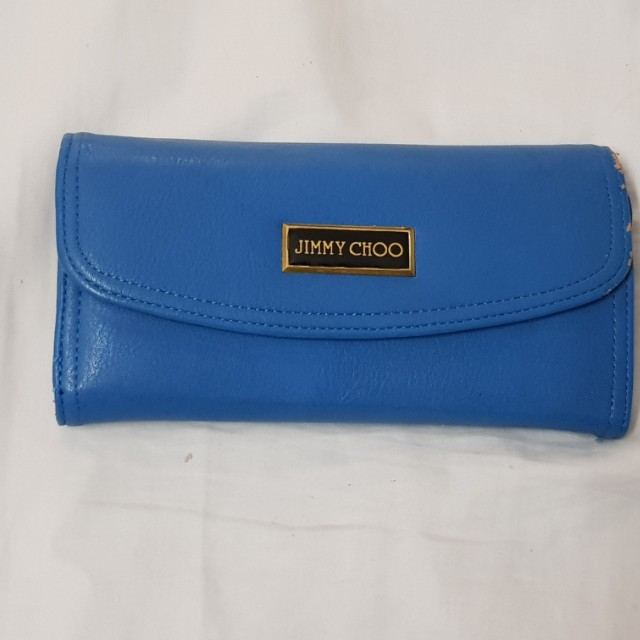 Brand new never used blue womens wallet