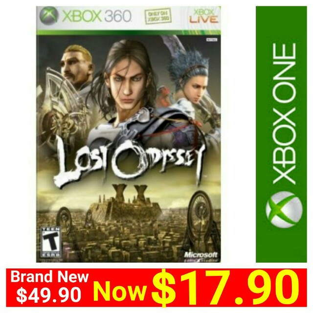 [Brand New] XBOX360 LOST ODYSSEY (NTSC) Imported from USA - Region Free  Version (playable on all Region Consoles - PAL, USA and Singapore Consoles)  *
