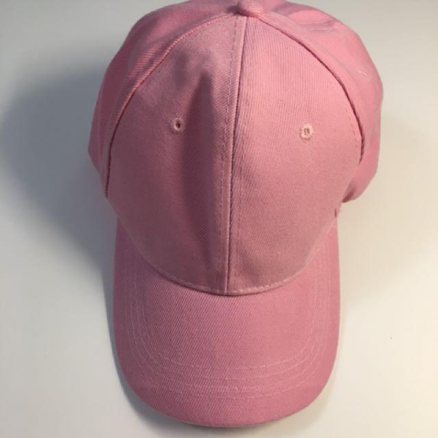 Bright Pink Baseball Cap (OS)