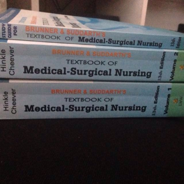 BRUNNER & SUDDARTH's Textbook of Medical-Surgical Nursing (13th EDITION)