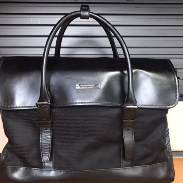 8083dbeb5be2 Burberry Black Label Men s Business Bag   Briefcase
