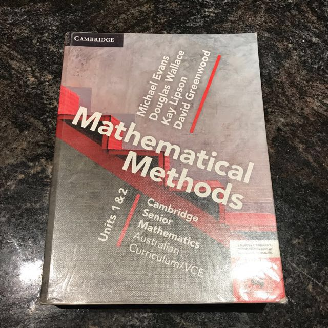 Cambridge maths methods units 1&2