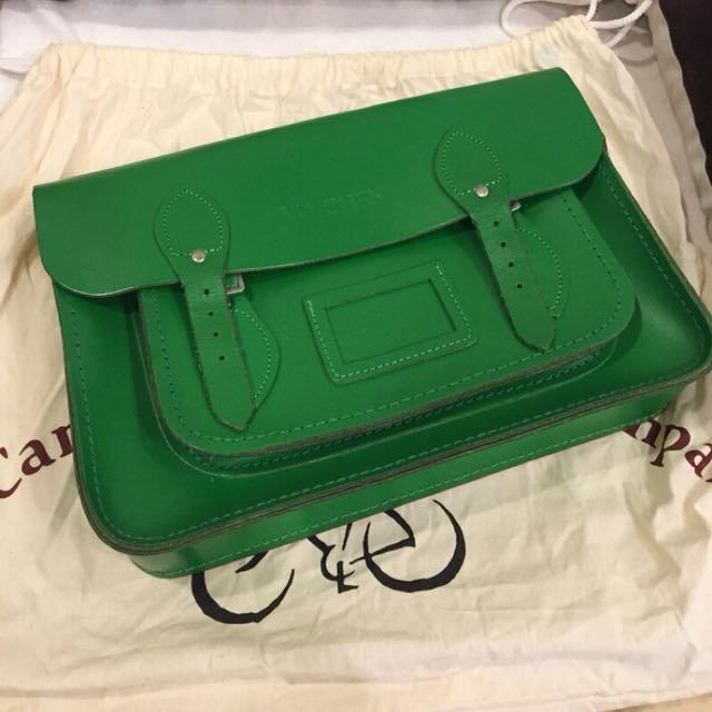 Cambridge satchel company 綠色 包包