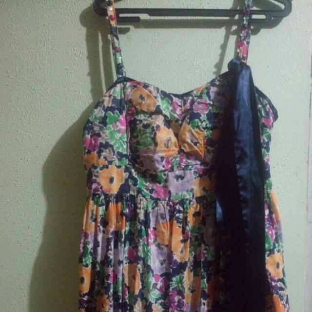 Candie's Floral Summer Dress