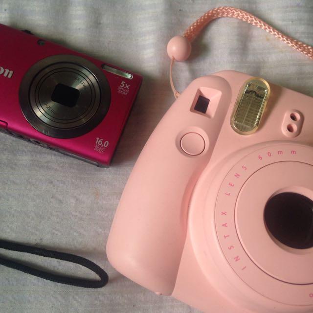 Canon & Fuji Camera