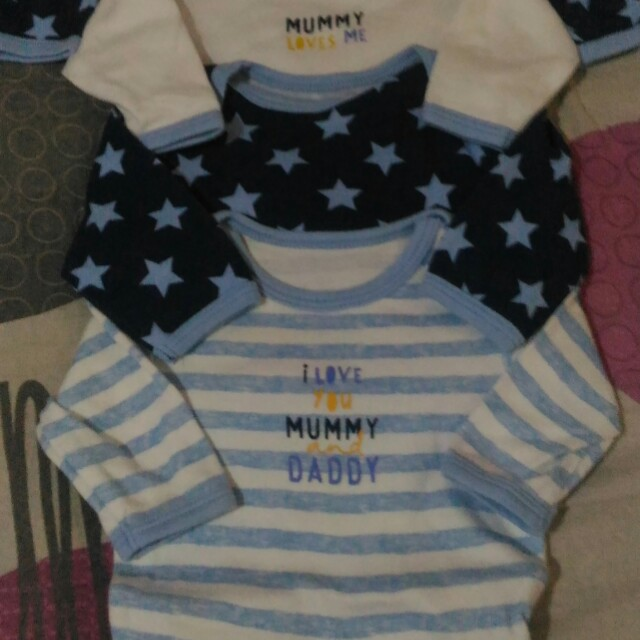Carter's and Tiny Baby long sleeves Onesie