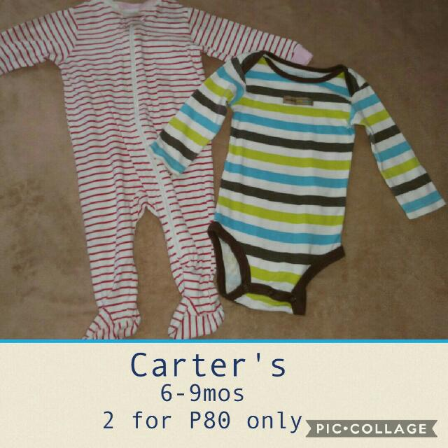 Carters Long Sleeve And Frogsuit