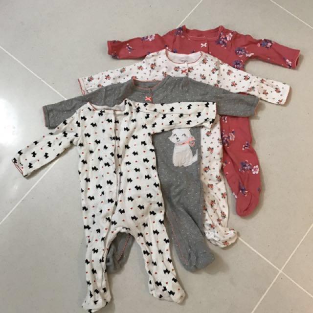 Carter's Sleepsuit Bundle