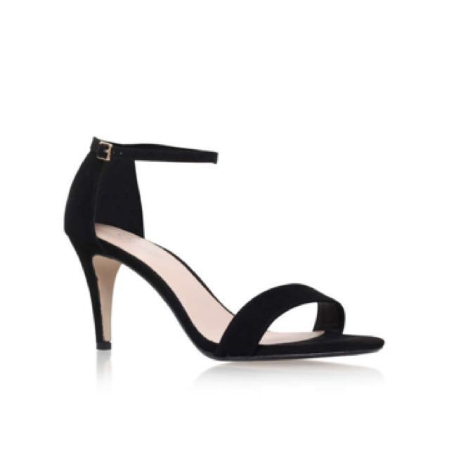 Carvela black mid heel sandle